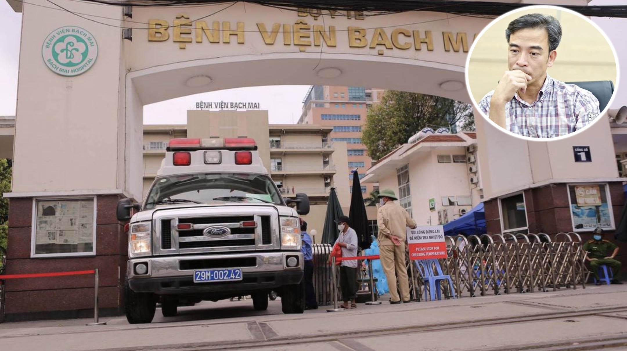 Giám đốc Bệnh viện Bạch Mai, ông Nguyễn Quang Tuấn: Không phải hơn 100 nhân lực nghỉ việc, mà gần 200