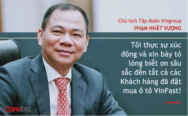 Chủ tịch Vingroup Phạm Nhật Vượng nói về xe điện VinFast: Chúng tôi không thua kém Tesla, Tesla có cái gì, chúng ta có cái đó