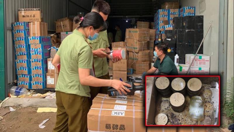 Nóng: Hà Nội thu giữ hàng tấn nguyên liệu trà sữa Royal Tea, Gong Cha… không rõ nguồn gốc
