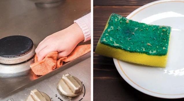 7 đồ vật trong căn bếp cần được vệ sinh thường xuyên nếu không sẽ trở thành ổ vi khuẩn, thế nhưng hầu hết mọi người đều bỏ quên