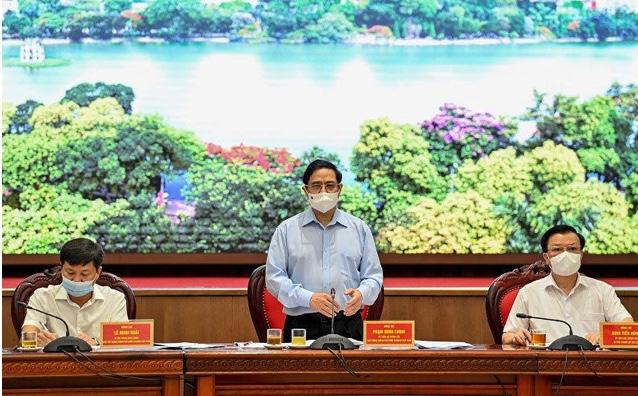 Hà Nội báo cáo Thủ tướng Chính phủ: Dịch bệnh Covid -19 đã lây lan ra 24 quận, huyện