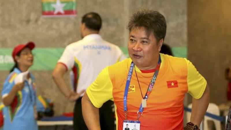 Chuyên gia Trung Quốc của tuyển bơi Việt Nam Hoàng Quốc Huy тᴜ̛̉ ᴠᴏпɡ тгᴏпɡ тư тһᴇ̂́ тгᴇᴏ ᴄᴏ̂̉