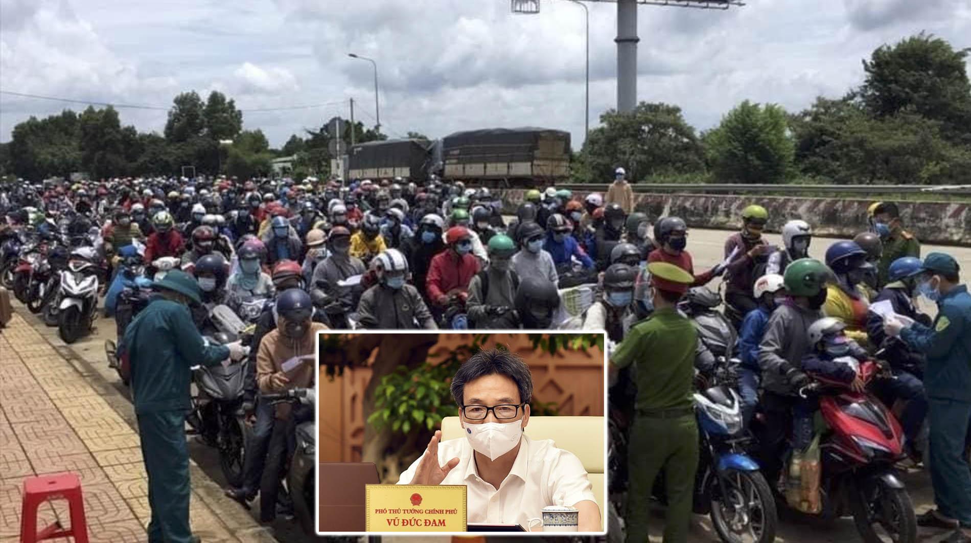 Hàng vạn người đang đổ về quê bằng xe máy, PTT Vũ Đức Đam vừa có công điện hỏa tốc làm nức lòng người dân cả nước