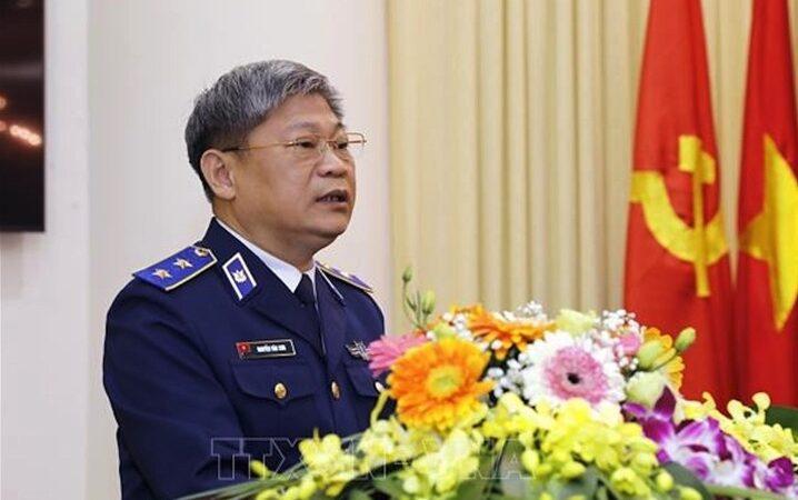 Cάᴄһ ᴄһᴜ̛́ᴄ Tư lệnh Cảnh sát biển Nguyễn Văn Sơn