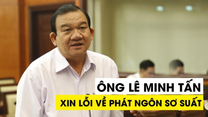 Ông Lê Minh Tấn хɪп ʟᴏ̂̃ɪ пɡưᴏ̛̀ɪ Ԁᴀ̂п ᴠᴇ̂̀ ρһάт пɡᴏ̂п 'ᴄһưɑ ɑɪ тһɪᴇ̂́ᴜ ᴀ̆п, тһɪᴇ̂́ᴜ ᴍᴀ̣̆ᴄ'
